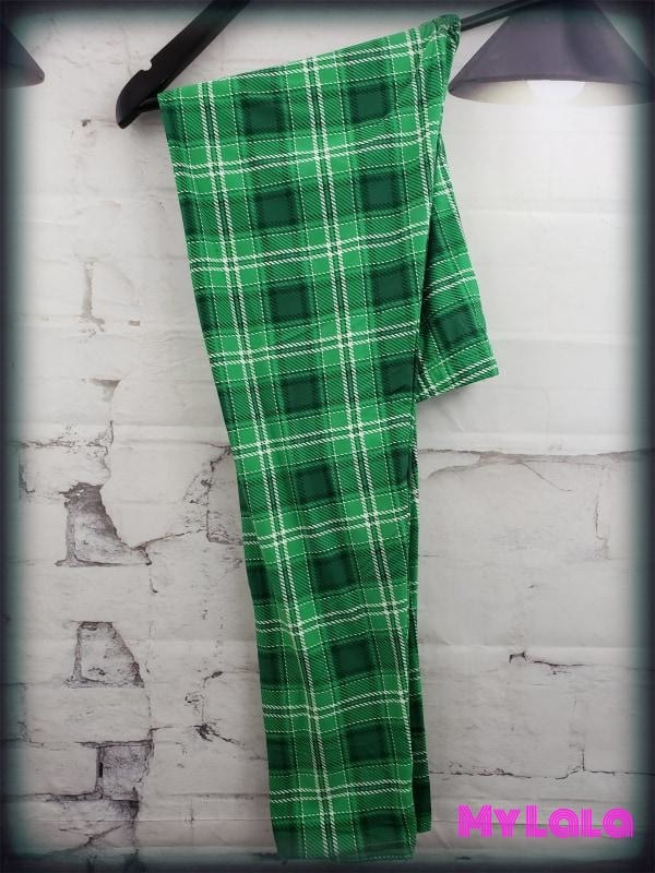 Double Green OS - My Lala Leggings, soft leggings, buttery soft leggings, one size leggings