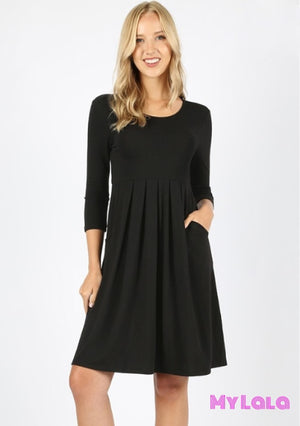 Dress 3/4 London (Black)