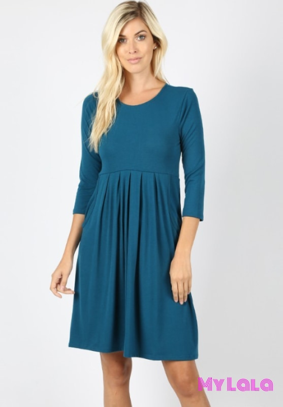Dress 3/4 London (Teal)