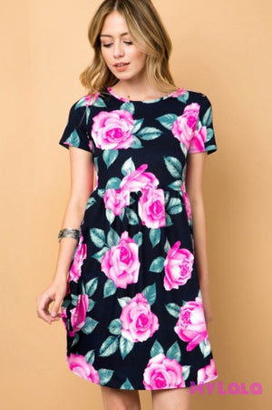 Dress Cameron (Navy)