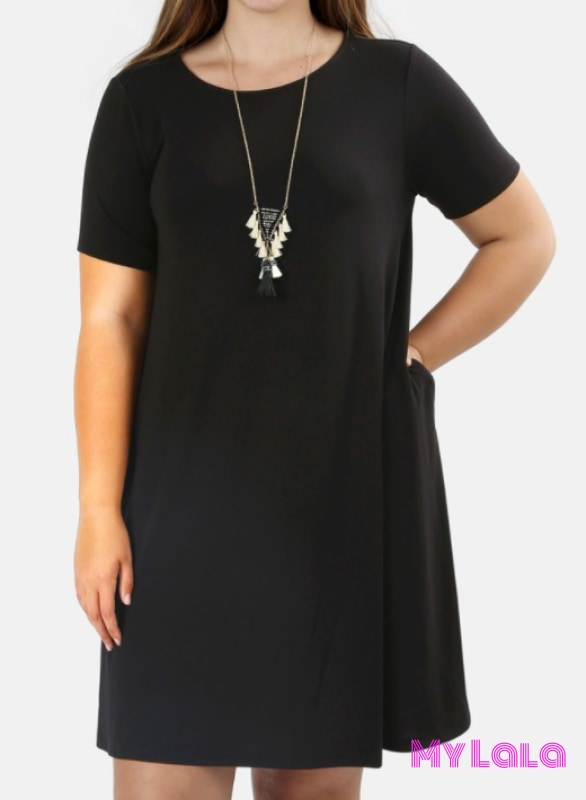 Dress Curvy Portland (Black)