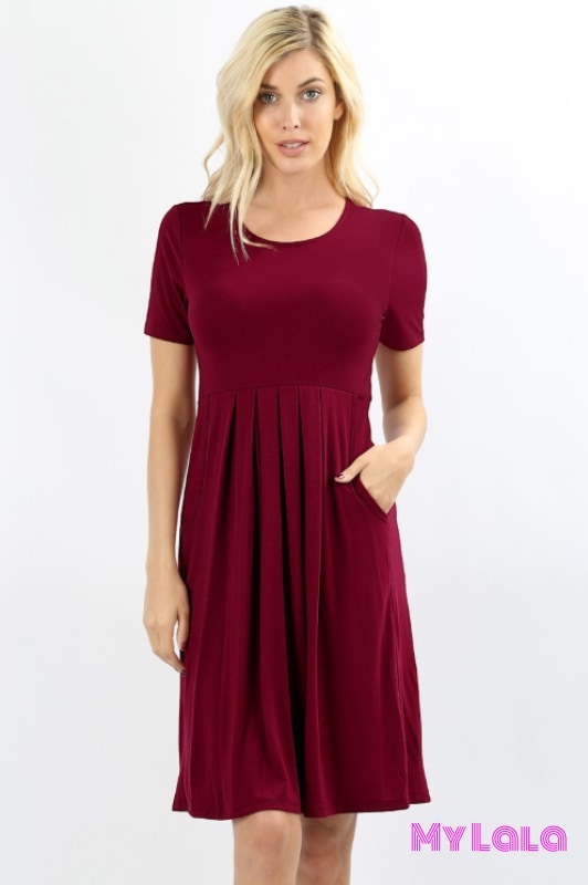 Dress London (Cabernet)