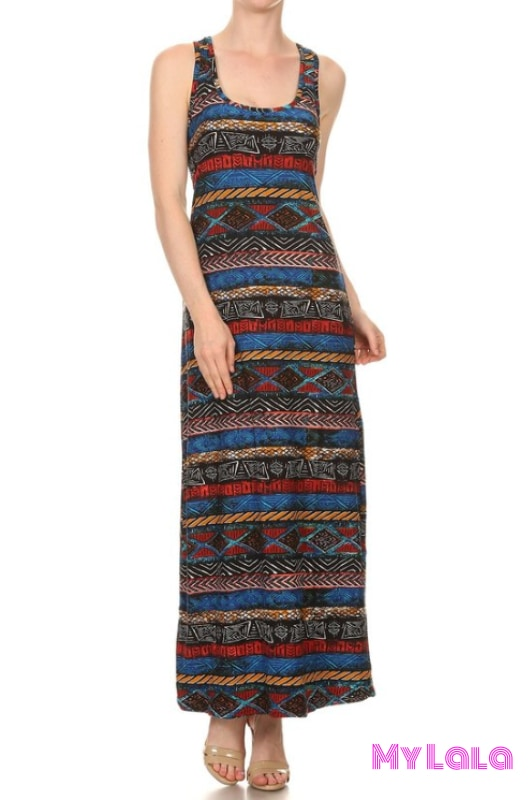 Dress Safari Onesize Maxi