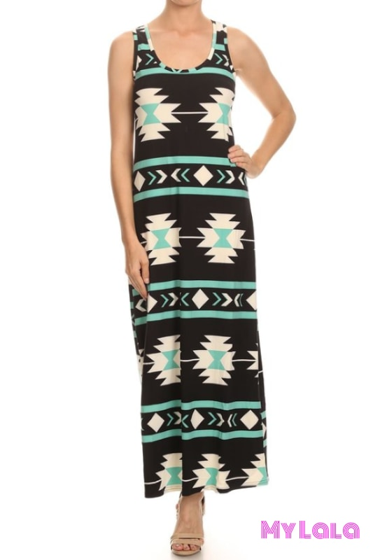 Dress Tribal Onesize Maxi