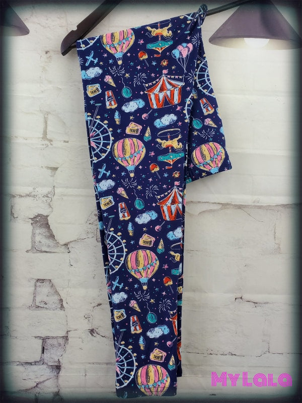 Extra Curvy County Fair 20-26 - My Lala Leggings, soft leggings, buttery soft leggings, one size leggings