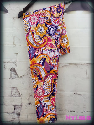 Extra Curvy Party Paisley (20-26)
