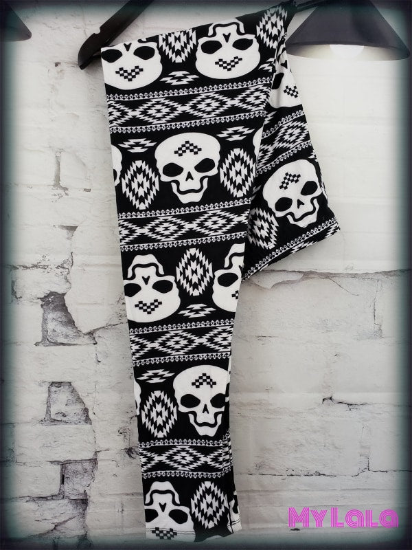 Extra Curvy Skull Sweater (20-26) - My Lala Leggings, soft leggings, buttery soft leggings, one size leggings