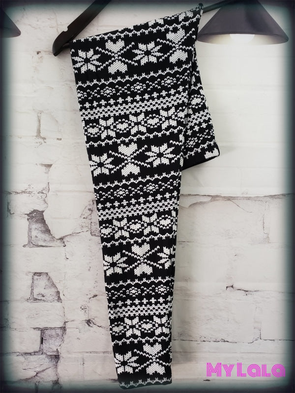 Extra Curvy Snowflake Knit (24-32) - My Lala Leggings