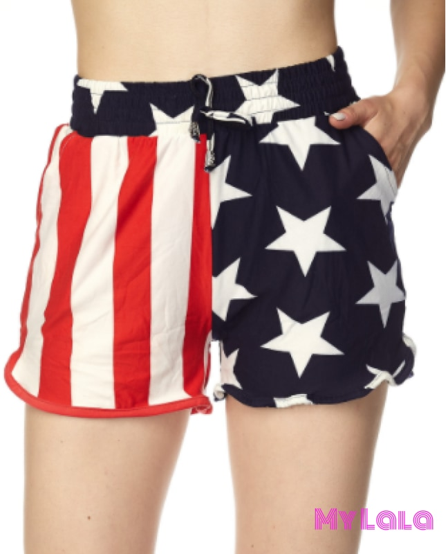 Freedom Rings Shorts