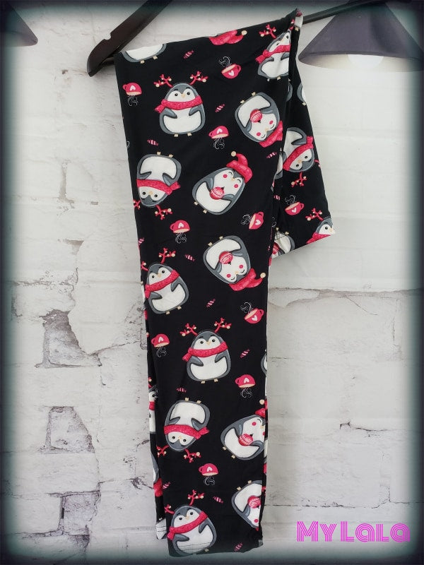 Holly Jolly OS - My Lala Leggings, soft leggings, buttery soft leggings, one size leggings
