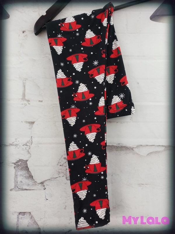 Hot Cocoa Kids - My Lala Leggings, soft leggings, buttery soft leggings, one size leggings