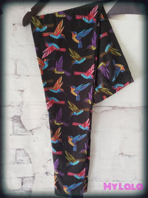 Hummingbird OS - My Lala Leggings, soft leggings, buttery soft leggings, one size leggings