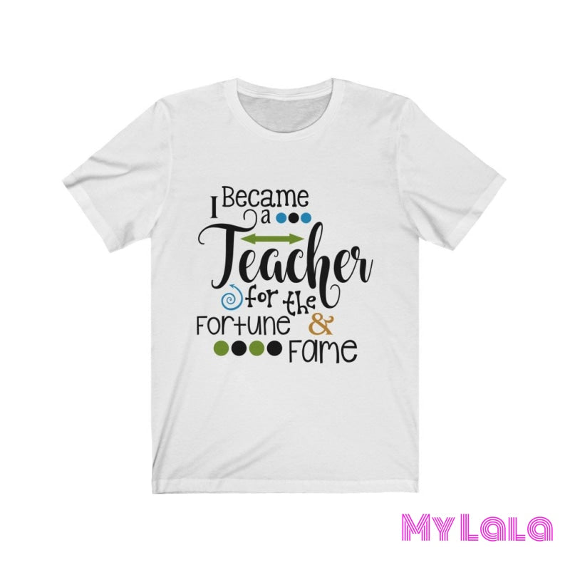 I became a Teacher Tee - My Lala Leggings, soft leggings, buttery soft leggings, one size leggings