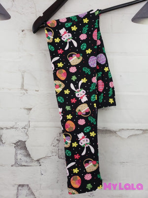 Kawaii Easter Kids - My Lala Leggings, soft leggings, buttery soft leggings, one size leggings