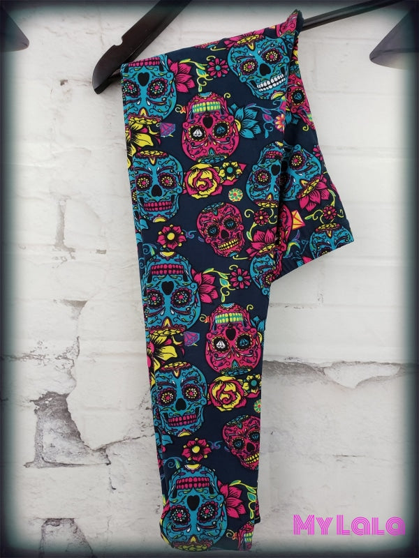 Magenta Steel Kids - My Lala Leggings