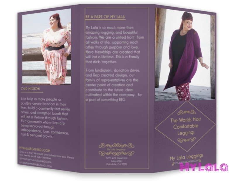 My Lala Opportunity Brochure (25 Pack) - My Lala Leggings