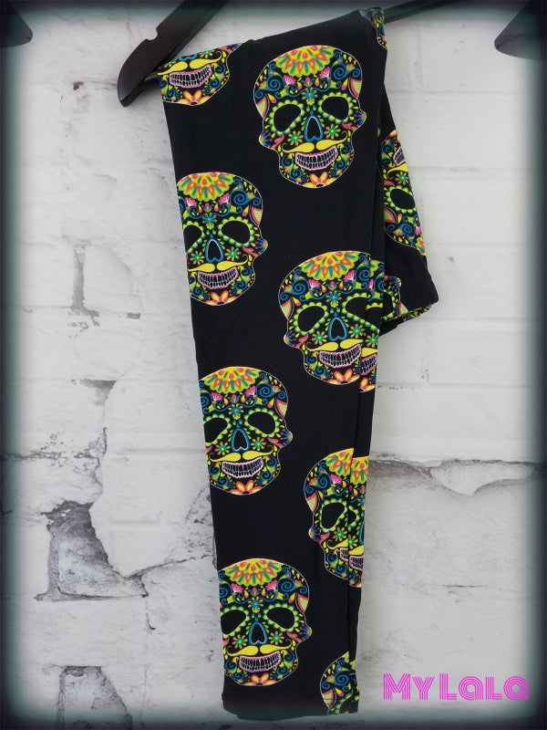 Neon Skull Kids - My Lala Leggings