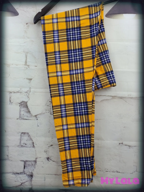 Plaid Me Yellow Os