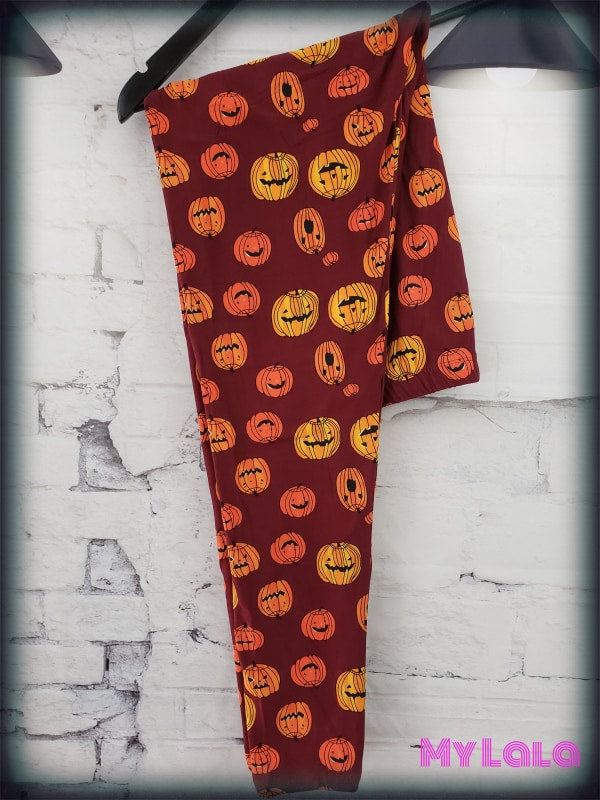 Pumpkin OS - My Lala Leggings, soft leggings, buttery soft leggings, one size leggings