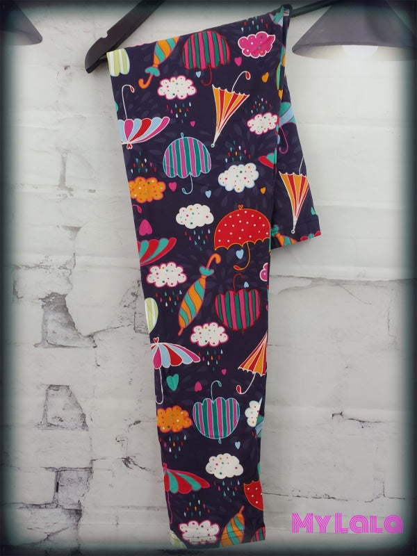 Rainy Days OS - My Lala Leggings, soft leggings, buttery soft leggings, one size leggings
