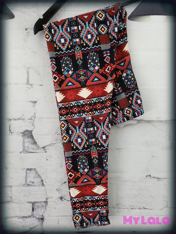 Red Rain OS - My Lala Leggings, soft leggings, buttery soft leggings, one size leggings
