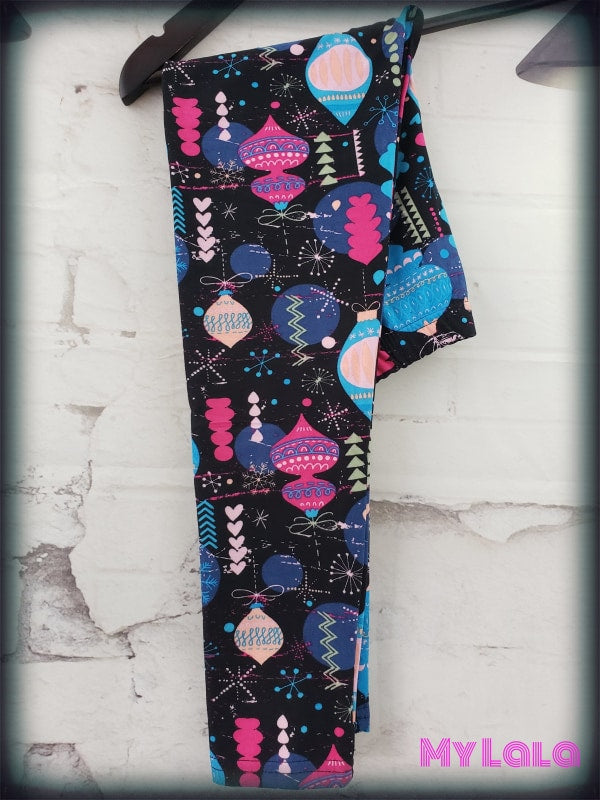Retro Ornaments Kids - My Lala Leggings, soft leggings, buttery soft leggings, one size leggings