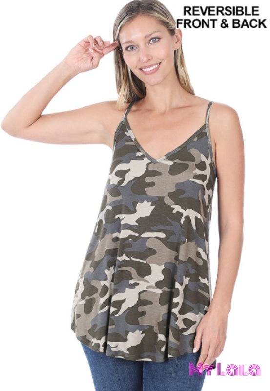 Reversible Cami (Dusty Camo)