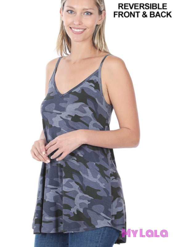 Reversible Cami (Navy Camo)