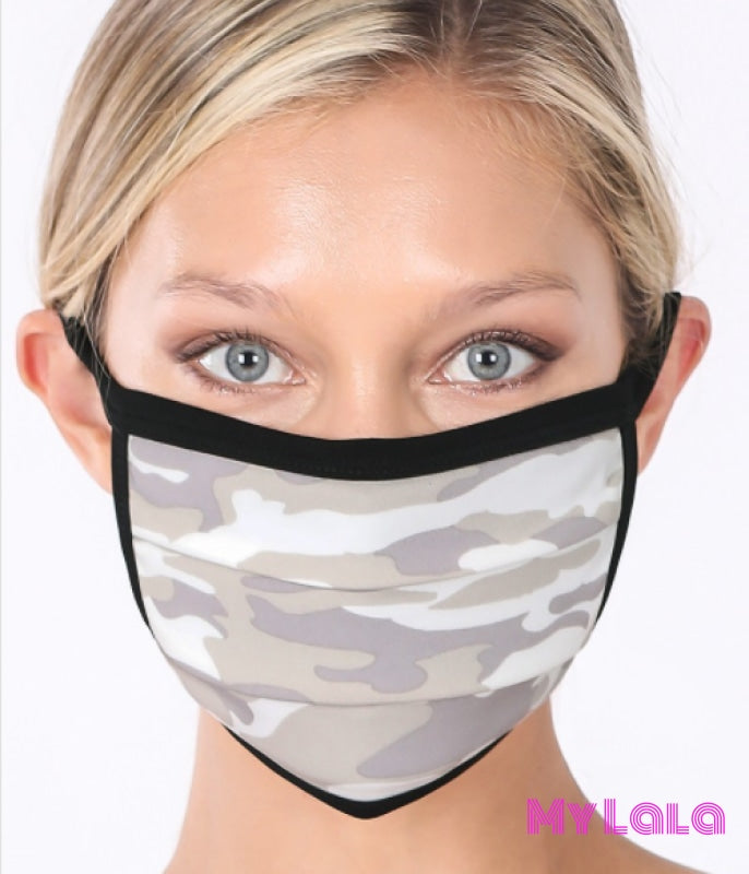 Sage Camo Mask - My Lala Leggings