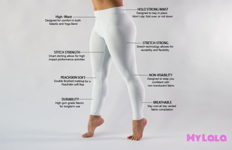 SOLID BULK  (Bulk 20pk) - My Lala Leggings, soft leggings, buttery soft leggings, one size leggings