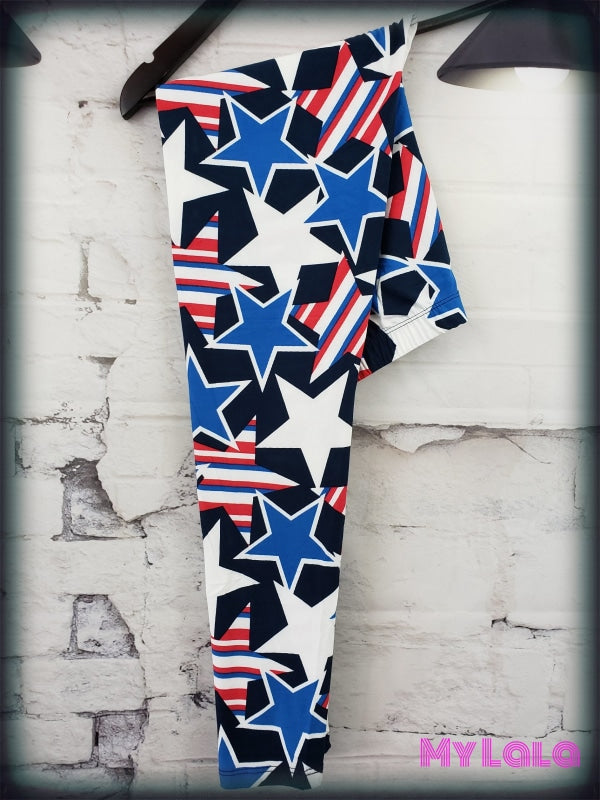 Stars & Stripes OS - My Lala Leggings