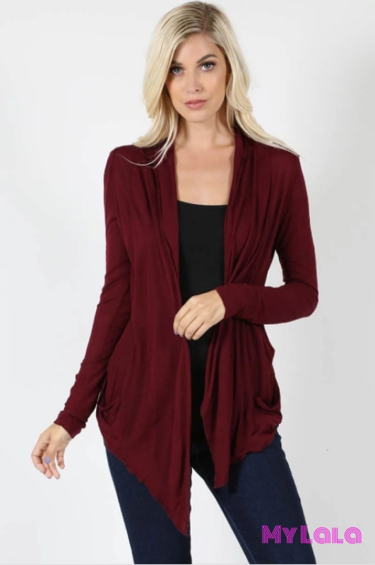 Summer Breeze (Dark Burgundy)