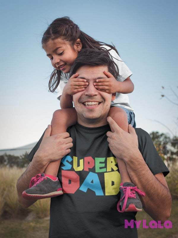 Super Dad Graphic Tee T-Shirt