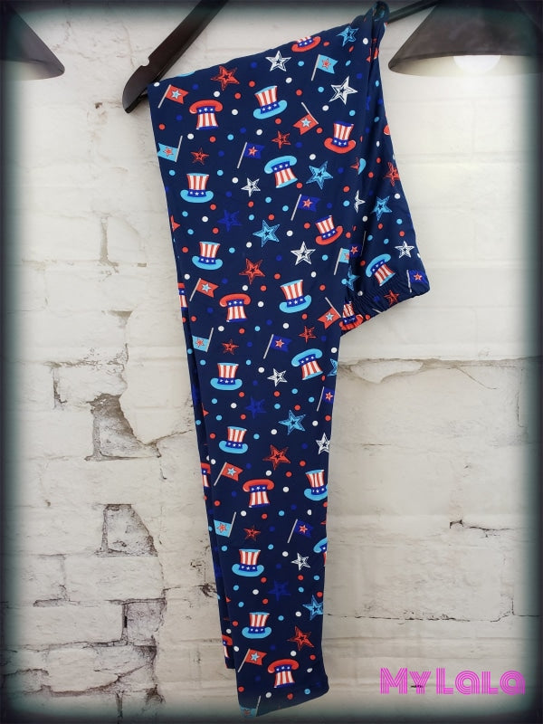 Uncle Sam OS - My Lala Leggings