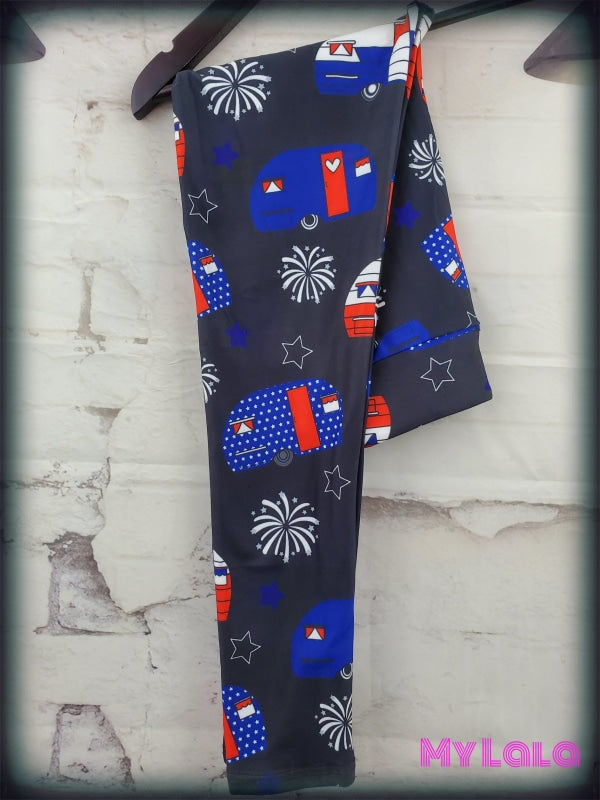 Yoga Band - American Campers Kids (Premium) - My Lala Leggings