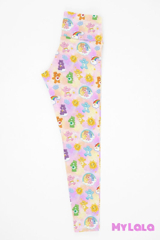 Yoga Band - Bear Friends Kids (Premium) - My Lala Leggings, soft leggings, buttery soft leggings, one size leggings