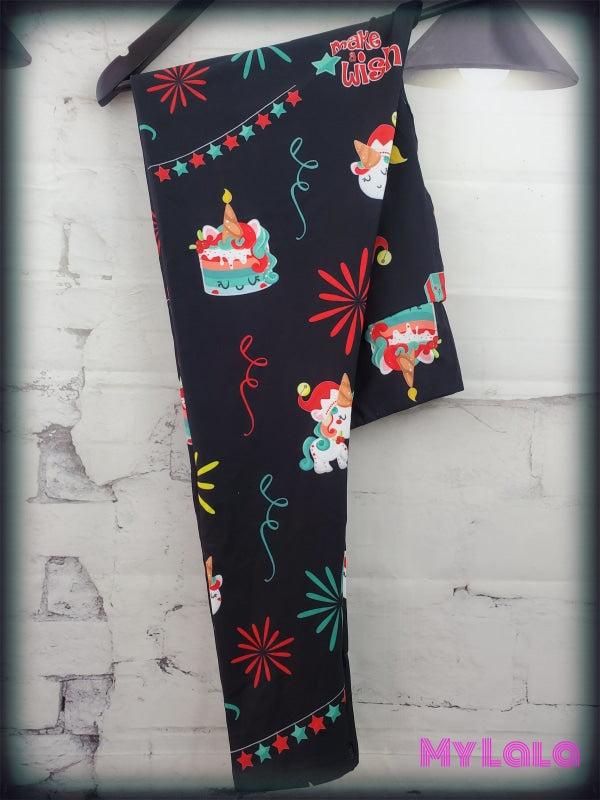Yoga Band - Birthday Unicorn OS (Premium) - My Lala Leggings