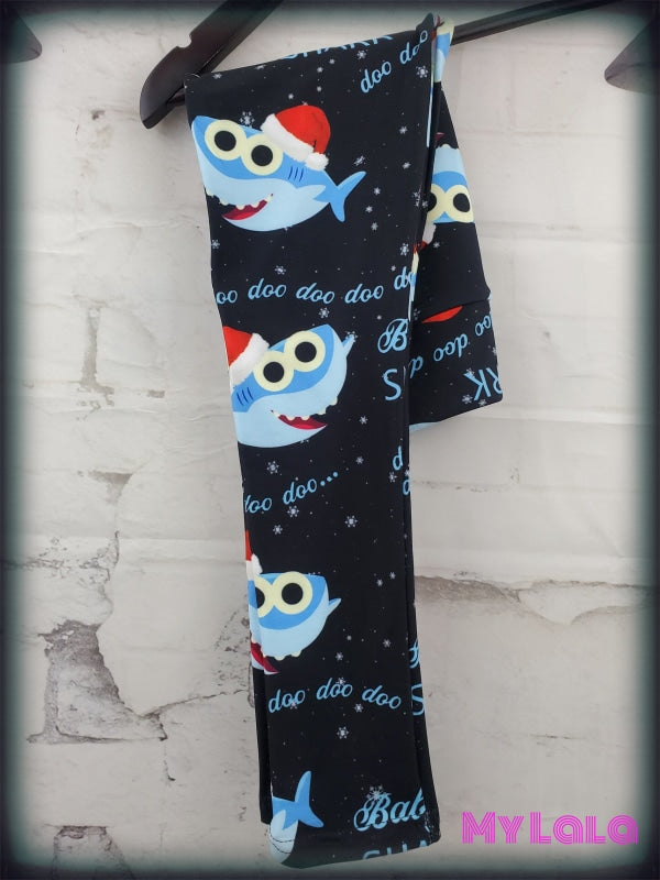 Yoga Band - Christmas Baby Shark Kids (Premium) - My Lala Leggings