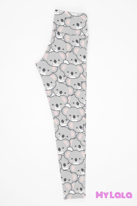 Yoga Band - Curvy Koala Face (Premium) - My Lala Leggings