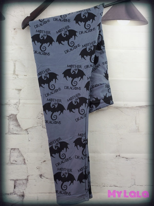 Yoga Band - Curvy Mother of Dragons (Premium) - My Lala Leggings, soft leggings, buttery soft leggings, one size leggings