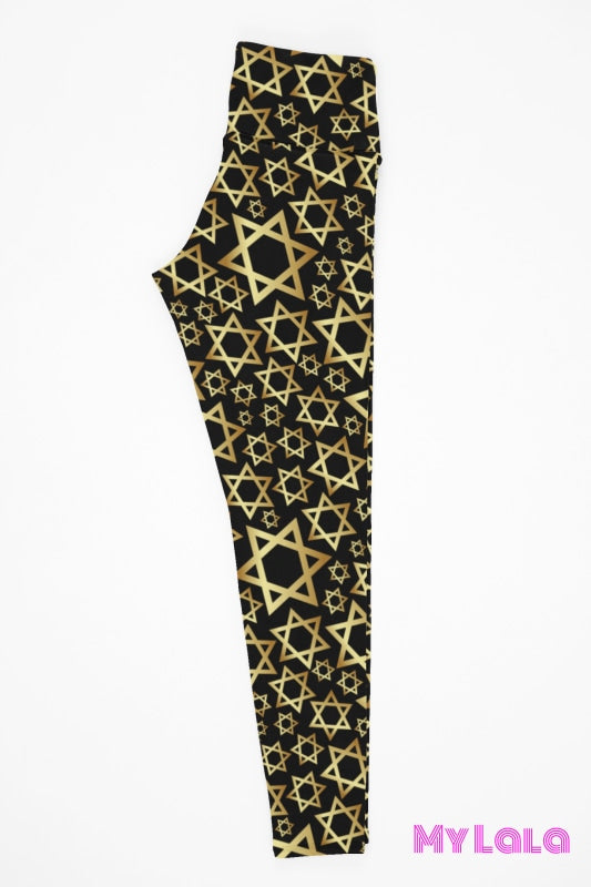 Yoga Band - Curvy Star of David (Premium) - My Lala Leggings