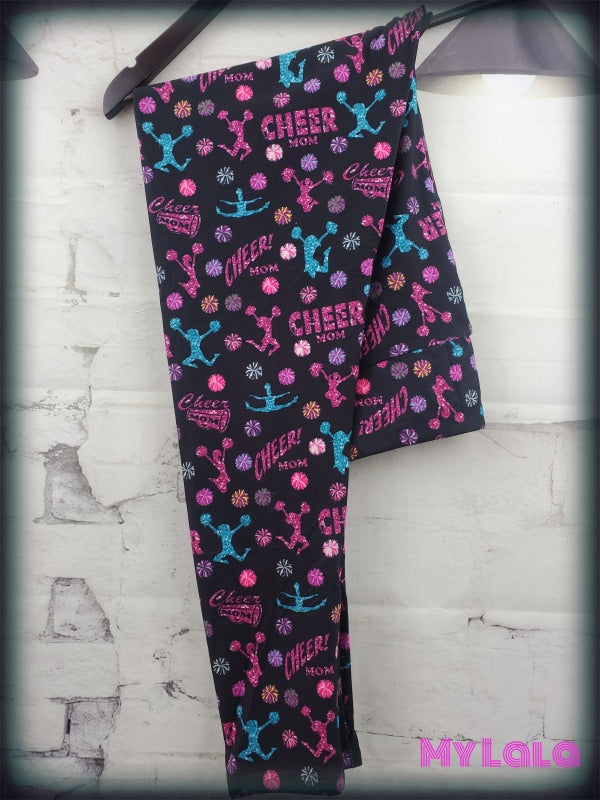 Yoga Band - Glitter Cheer Mom OS (Premium) - My Lala Leggings