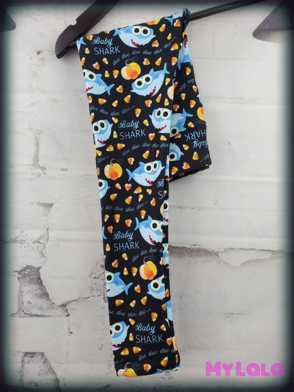 Yoga Band - Halloween Baby Shark Kids (Premium) - My Lala Leggings