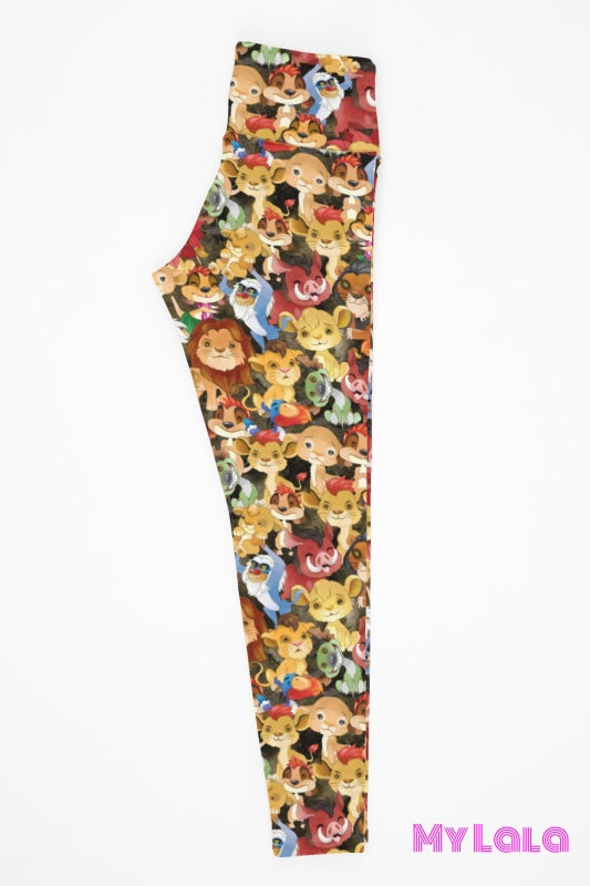 Yoga Band - Lions World Kids (Premium) - My Lala Leggings
