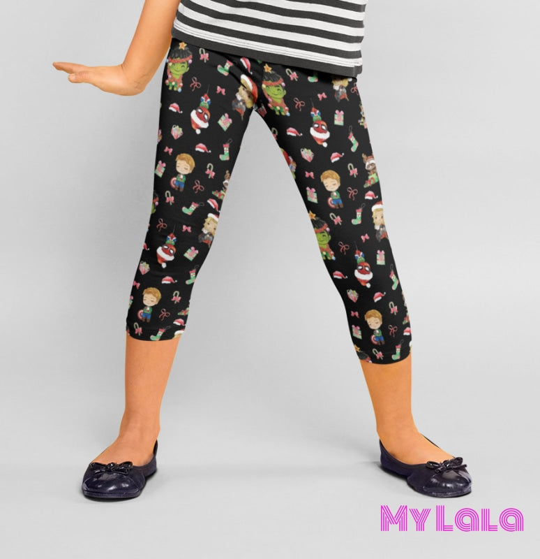Yoga Band - MARVELous Christmas Kids (Premium) - My Lala Leggings