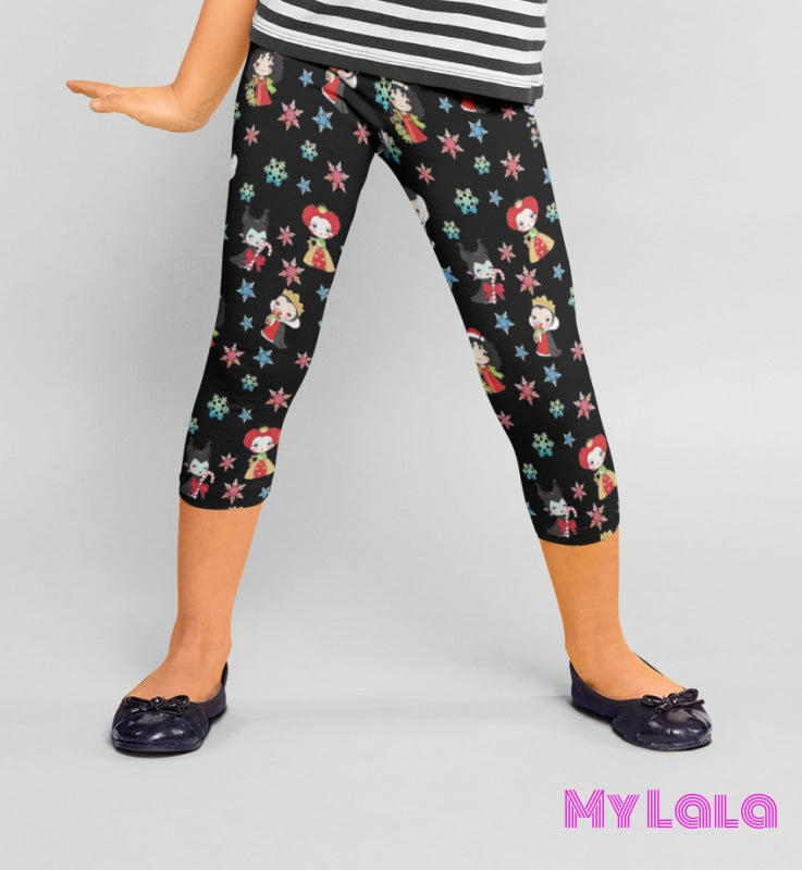 Yoga Band - Queen Holiday Kids (Premium) - My Lala Leggings, soft leggings, buttery soft leggings, one size leggings