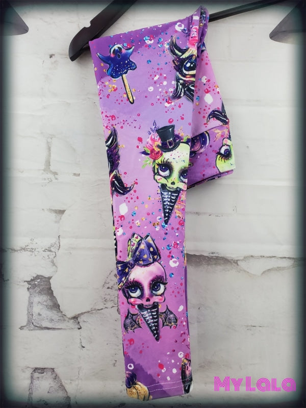Yoga Band - Skull Candy Kids (Premium) - My Lala Leggings, soft leggings, buttery soft leggings, one size leggings