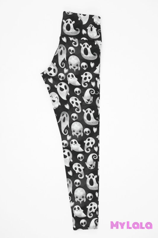 Yoga Band - Super Ghoul OS (Premium) - My Lala Leggings, soft leggings, buttery soft leggings, one size leggings