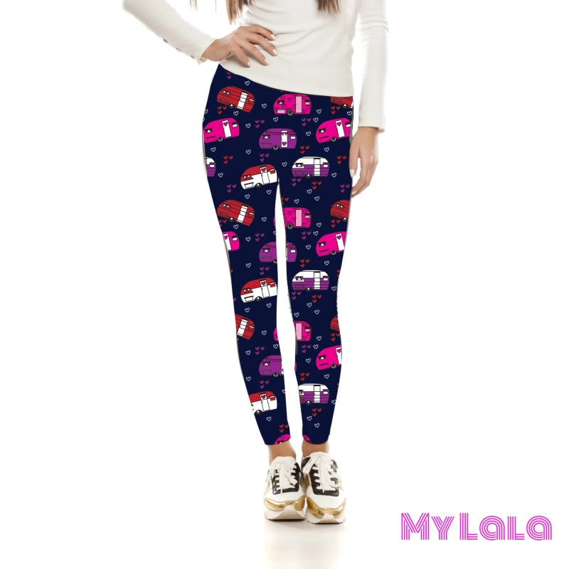 Yoga Band - Travelers Heart Kids (Premium) - My Lala Leggings