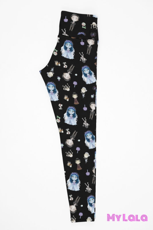 Yoga Band - Zombie Bride Kids (Premium) - My Lala Leggings